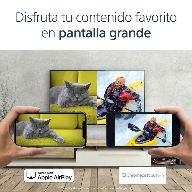 Serie_A80J_1000x1000px_77inch_07_SmartFunction_AppleAirPlay_Chromecast